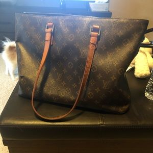 Authentic large LV bag